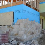 Sand Stone Veneer Home
