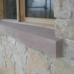 Sand stone window sill
